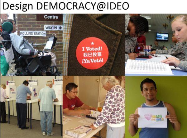 ▲Design Democracy(圖片來源:中衛中心提供佘日新簡報)