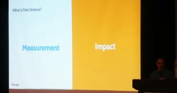 ▲Ed老師分享,Data Science (資料科學)關注的主要是Measurement、Impact。