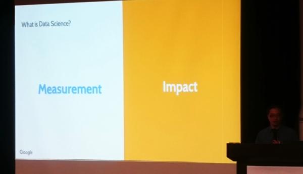 ▲Ed老師分享,Data Science(資料科學)關注的主要是Measurement、Impact。