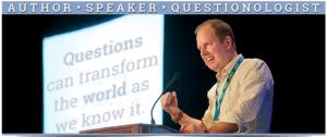 ▲華倫•柏格是作家、演講者,也是提問學家
