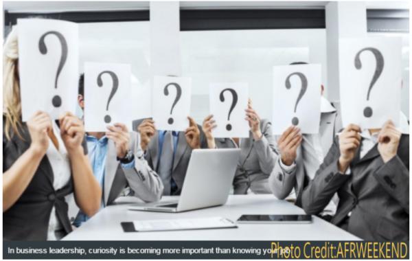 ▲企業內部應加強「問問題」的能力(圖片擷取自:AFRWEEKEND)