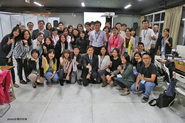 2016.10.14 參與活動的企業夥伴及視障導師