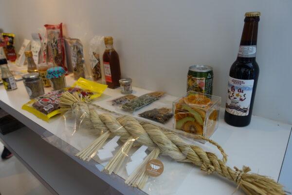 ▲從神社的注連繩到啤酒花等農產品都運用乾燥技術製作