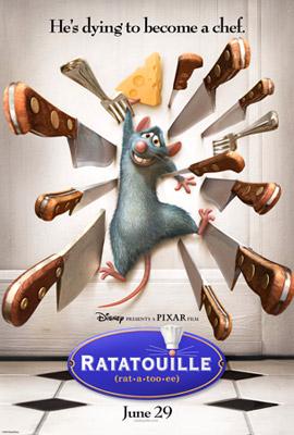 ▲電影《料理鼠王》(Ratatouille)(圖片來源)