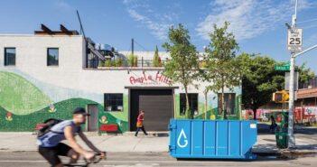 ▲街道上的生態垃圾桶。(圖片來源:Interior Design)