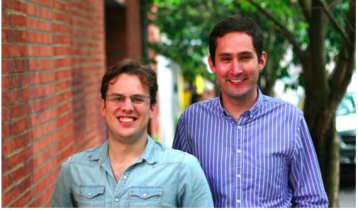 ▲Instagram兩位創辦人,左為Mike Krieger,右為Kevin Systrom(圖片來源:Instagram官網)