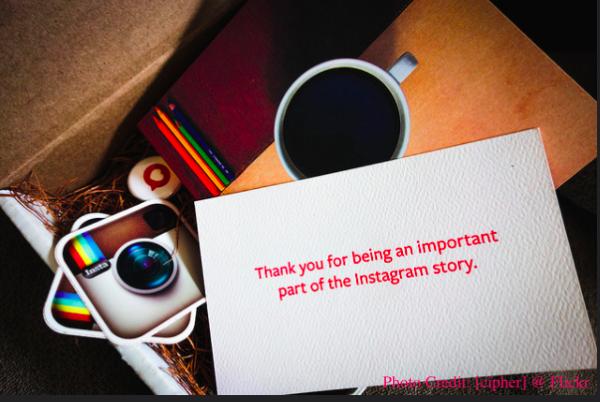 ▲「為顧客著想」是Instagram的價值 (圖片擷取:Flickr)